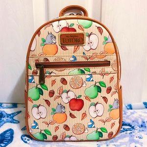 NWT 🍎🍐🍊 Loungefly Ghibli Totoro Fruits Backpack